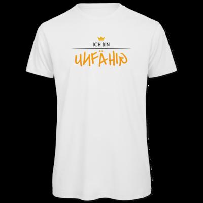 Motiv: Organic T-Shirt - ich bin unfähig