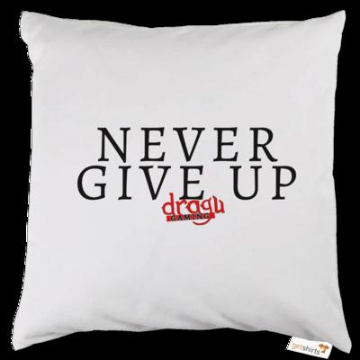 Motiv: Kissen - Never give up