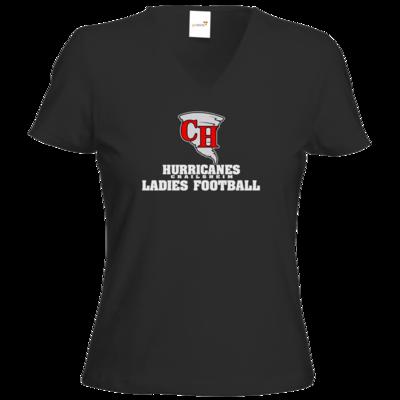 Motiv: T-Shirt Damen V-Neck Classic - Hurricanes 1