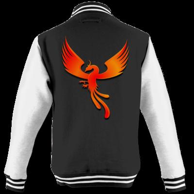 Motiv: College Jacke - Resoulance Phoenix Logo