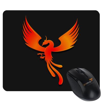 Motiv: Mousepad Textil - Resoulance Phoenix Logo