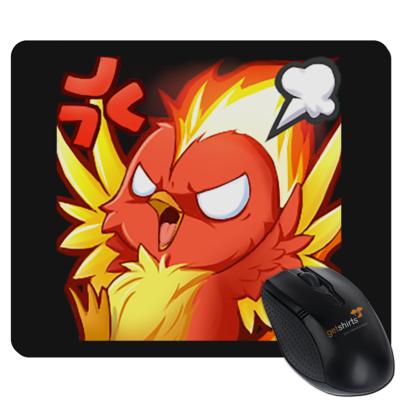 Motiv: Mousepad Textil - Fye Rage