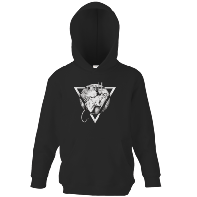 Motiv: Kids Hooded Sweat - Rattus