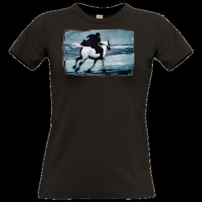 Motiv: T-Shirt Damen Premium FAIR WEAR - Schimmelreiter