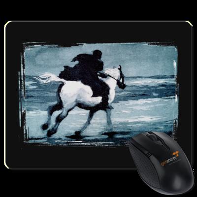 Motiv: Mousepad Textil - Schimmelreiter