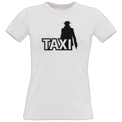Motiv: T-Shirt Damen Premium FAIR WEAR - Das Taxi