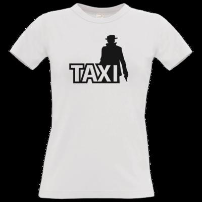 Motiv: T-Shirt Damen Premium FAIR WEAR - Das Taxi
