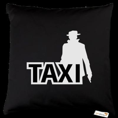 Motiv: Kissen Baumwolle - Das Taxi