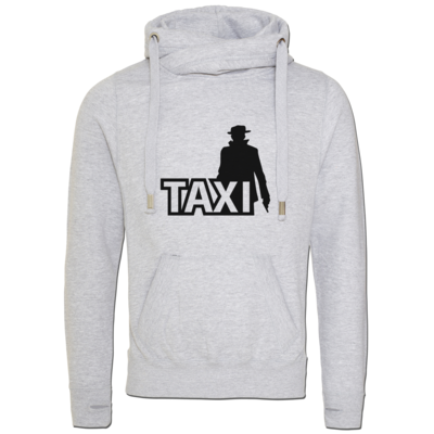Motiv: Cross Neck Hoodie - Das Taxi