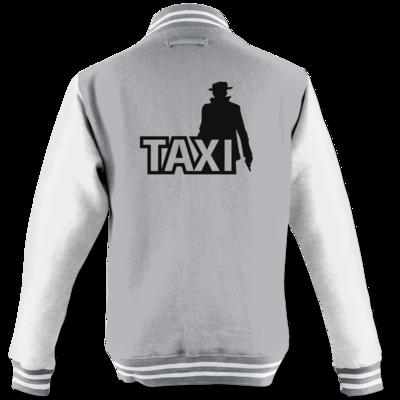 Motiv: College Jacke - Das Taxi