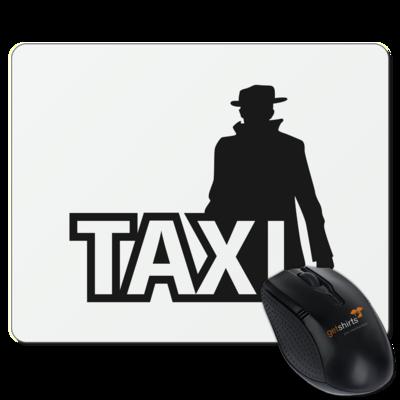 Motiv: Mousepad Textil - Das Taxi