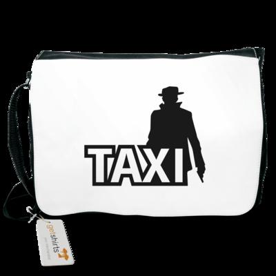 Motiv: Schultertasche - Das Taxi