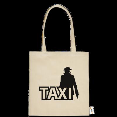 Motiv: Baumwolltasche - Das Taxi