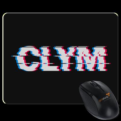 Motiv: Mousepad Textil - Clym Glitch