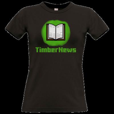 Motiv: T-Shirt Damen Premium FAIR WEAR - Fraktion TimberNews