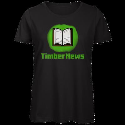 Motiv: Organic Lady T-Shirt - Fraktion TimberNews