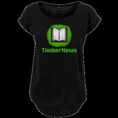 Motiv: Ladies Long Slub Tee - Fraktion TimberNews