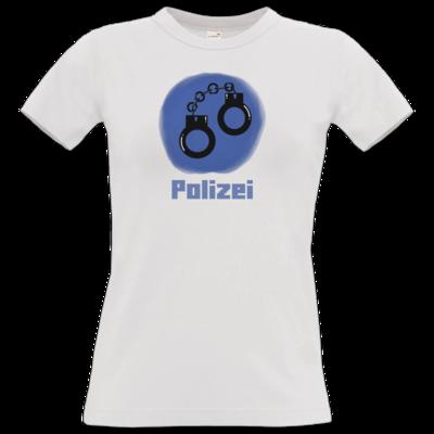 Motiv: T-Shirt Damen Premium FAIR WEAR - Fraktion Polizei