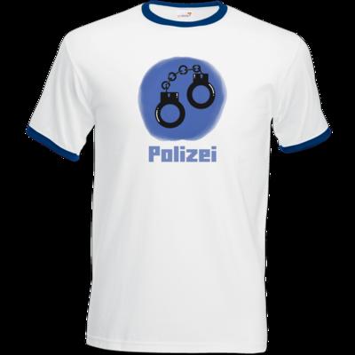 Motiv: T-Shirt Ringer - Fraktion Polizei