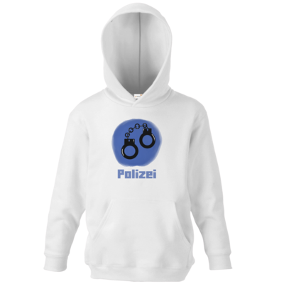 Motiv: Kids Hooded Sweat - Fraktion Polizei