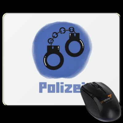 Motiv: Mousepad Textil - Fraktion Polizei