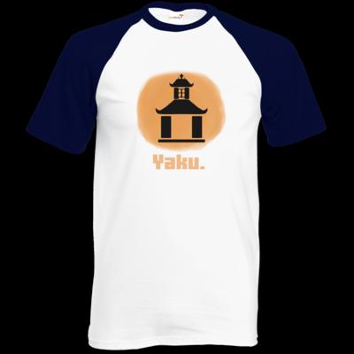 Motiv: Baseball-T FAIR WEAR - Fraktion Yaku