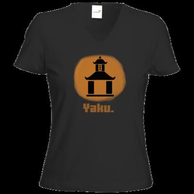 Motiv: T-Shirts Damen V-Neck FAIR WEAR - Fraktion Yaku