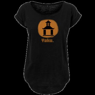 Motiv: Ladies Long Slub Tee - Fraktion Yaku