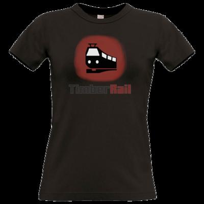 Motiv: T-Shirt Damen Premium FAIR WEAR - Fraktion TimberRail