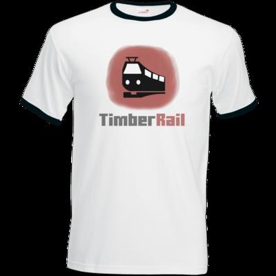 Motiv: T-Shirt Ringer - Fraktion TimberRail
