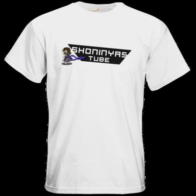 Motiv: T-Shirt Premium FAIR WEAR - ShoninyasTube Banner (uebersaettigt)