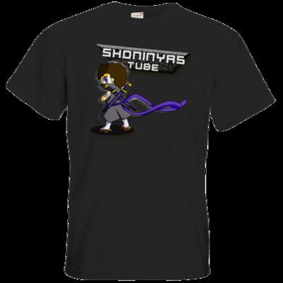 Motiv: T-Shirt Premium FAIR WEAR - minion+banner (uebersaettigt)