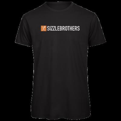 Motiv: Organic T-Shirt - SizzleBrothers Logo