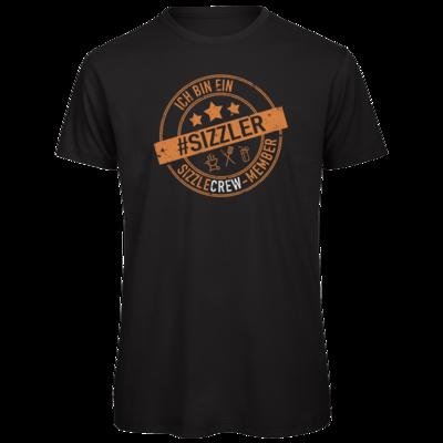 Motiv: Organic T-Shirt - sizzler_3_dunkel
