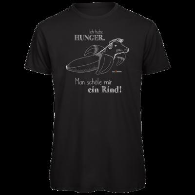 Motiv: Organic T-Shirt - SizzleBrothers - Grillen - Hunger Rind schälen