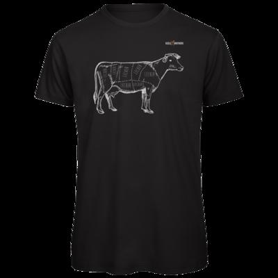 Motiv: Organic T-Shirt - SizzleBrothers - Grillen - Meatmap