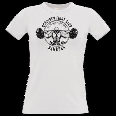 Motiv: T-Shirt Damen Premium FAIR WEAR - NFC Train or Die