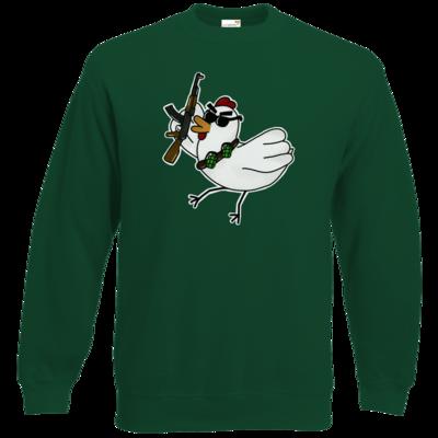 Motiv: Sweatshirt Classic - Terrorhuhn
