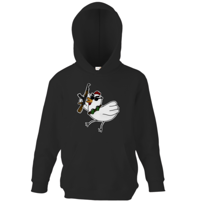Motiv: Kids Hooded Sweat - Terrorhuhn