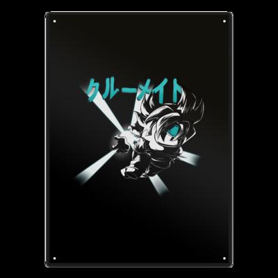 Motiv: Metallschild - Crewmate