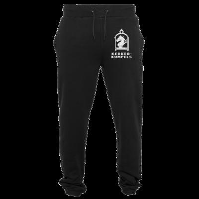 Motiv: Heavy Sweatpants - Kerkerkumpels Logo S/W Vertikal