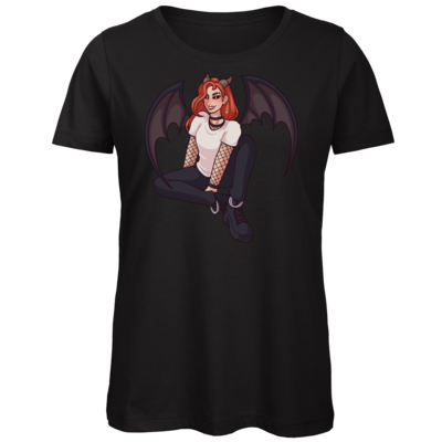 Motiv: Organic Lady T-Shirt - Demoness Lucyras