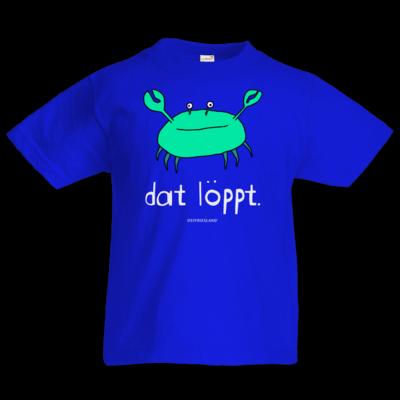 Motiv: Kids T-Shirt Premium FAIR WEAR - dat löppt. gruen