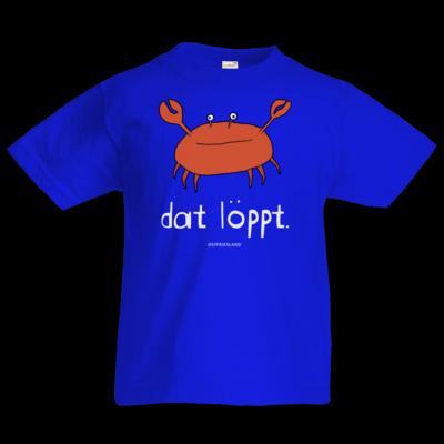 Motiv: Kids T-Shirt Premium FAIR WEAR - dat löppt. orange