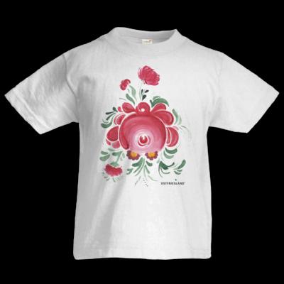 Motiv: Kids T-Shirt Premium FAIR WEAR - Ostfriesische Teerose
