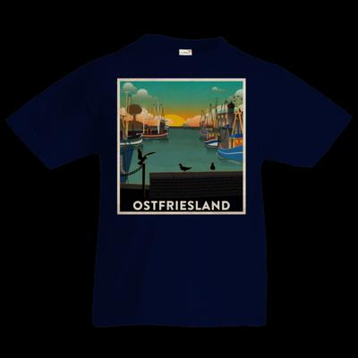 Motiv: Kids T-Shirt Premium FAIR WEAR - Heimathafen
