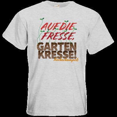 Motiv: T-Shirt Premium FAIR WEAR - Auf die Fresse, Gartenkresse!
