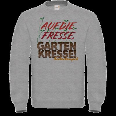 Motiv: Sweatshirt FAIR WEAR - Auf die Fresse, Gartenkresse!