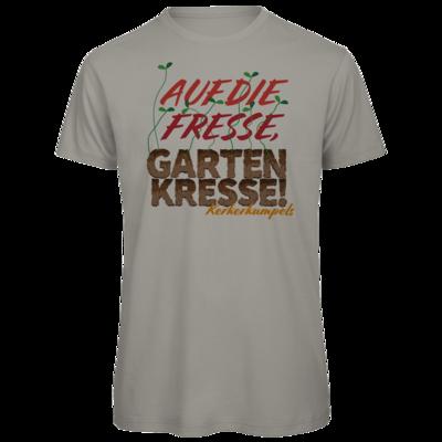 Motiv: Organic T-Shirt - Auf die Fresse, Gartenkresse!