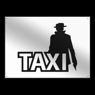 Motiv: Metallschild - Das Taxi